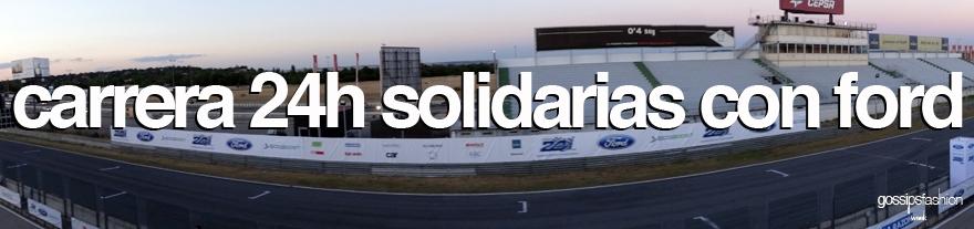carrera 24h solidarias con ford