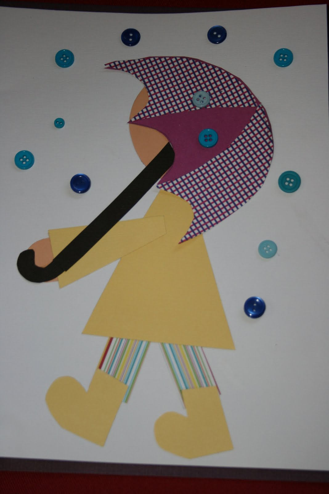 March arts and crafts - Spring Rain Art Projects