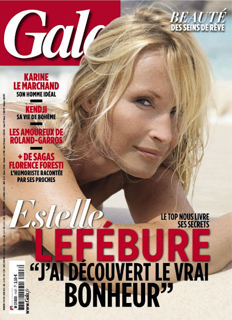 Model, Actress @ Estelle Lefebure - Gala France, June 2015