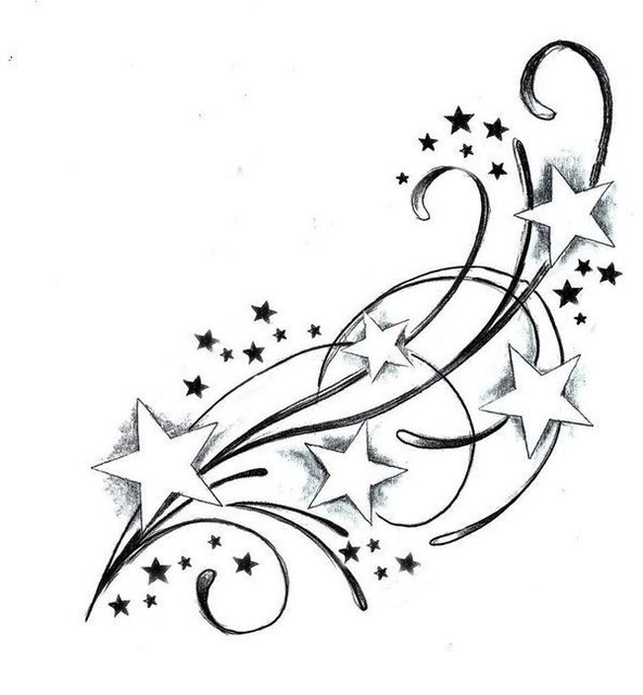 Design Tattoo Tattoos Stars Star Tattoo Design Photos