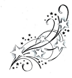 Moon tattoos henna tattoos tatoo henna tattoo back unalome tattoo - Star Tattoo Stencils Images Amp Pictures Becuo