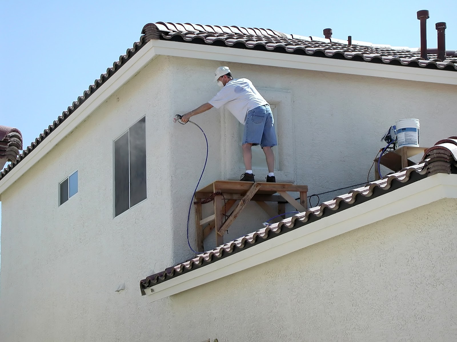 Exterior house painting diy