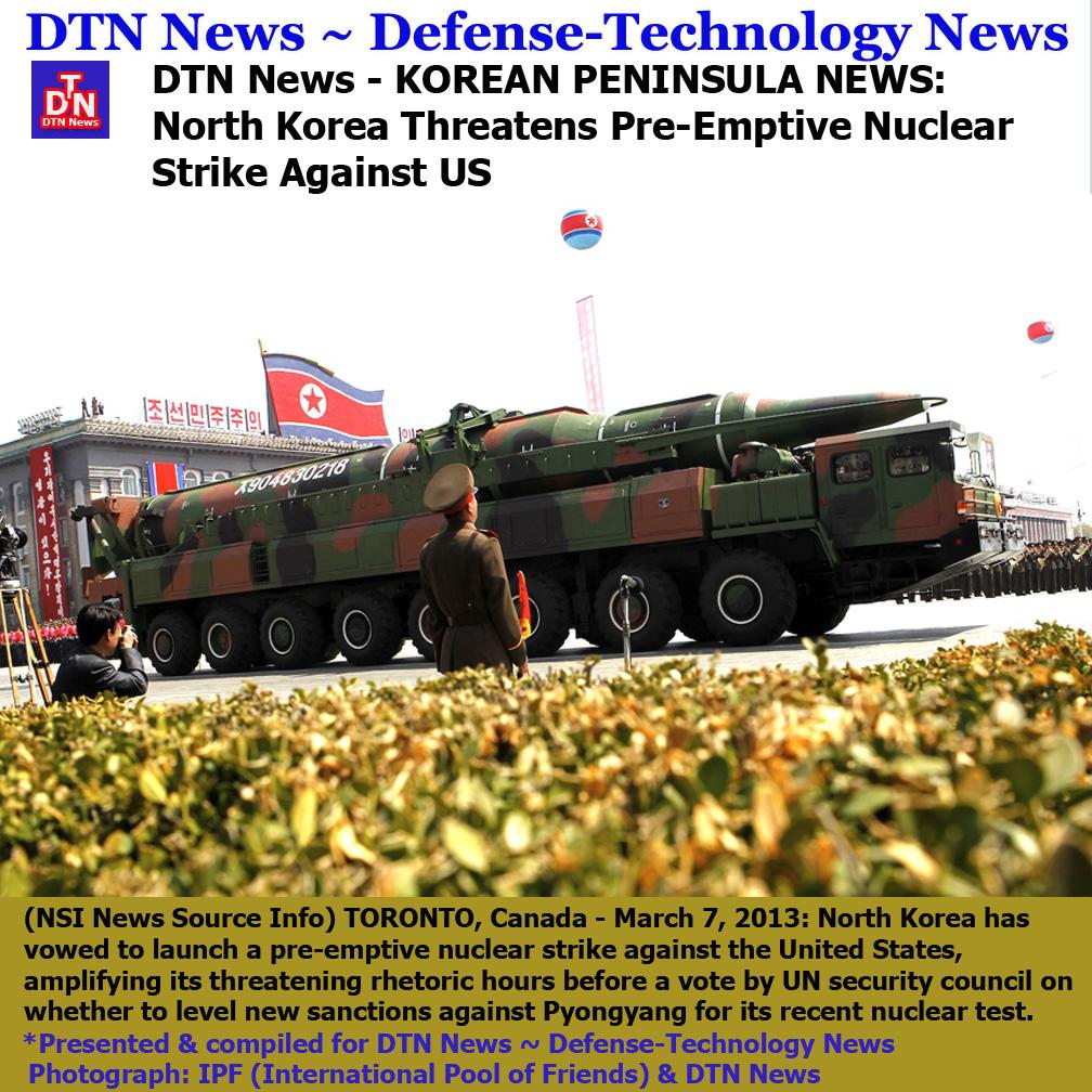 North Korea Latest News: Defense War News Updates: DTN News