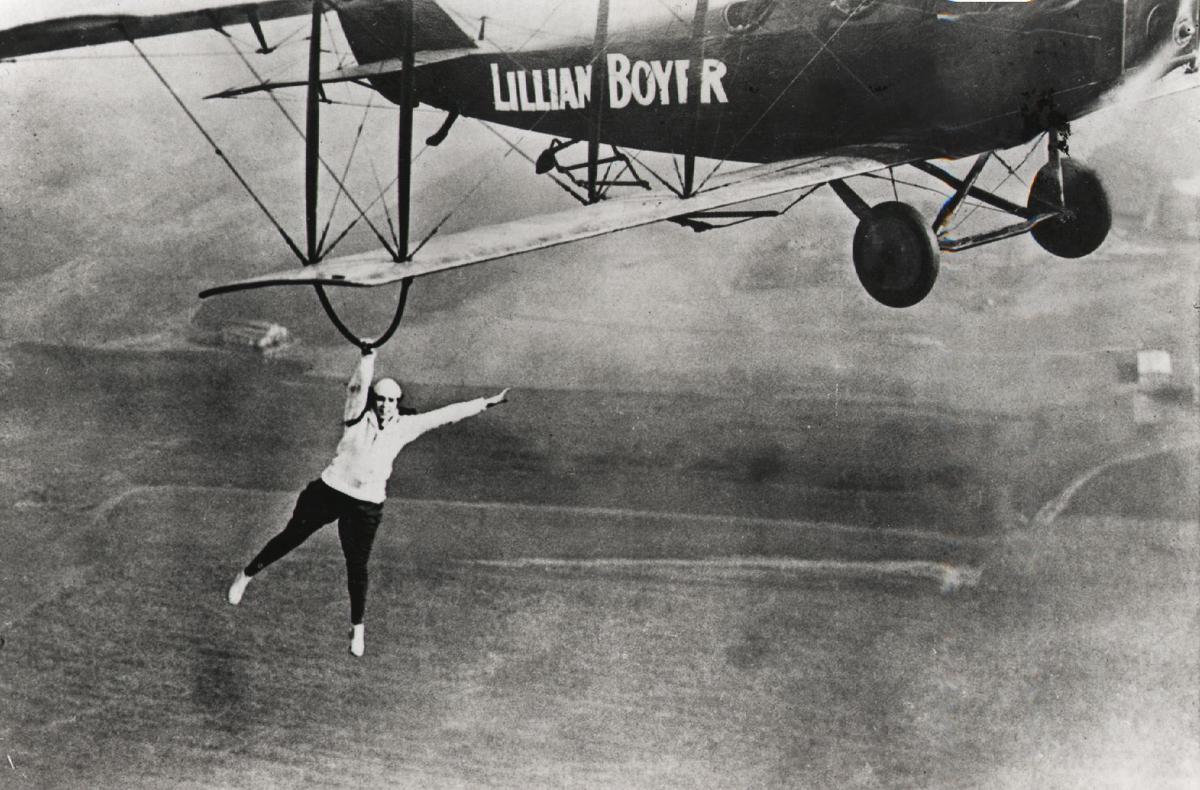 Image result for stunt flying 1920s - 1930s