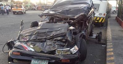 Bryan Gahol car accident wrecked car photo