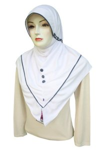 Jilbab Rabbani New Innova - Putih (Toko Jilbab dan Busana Muslimah Terbaru)