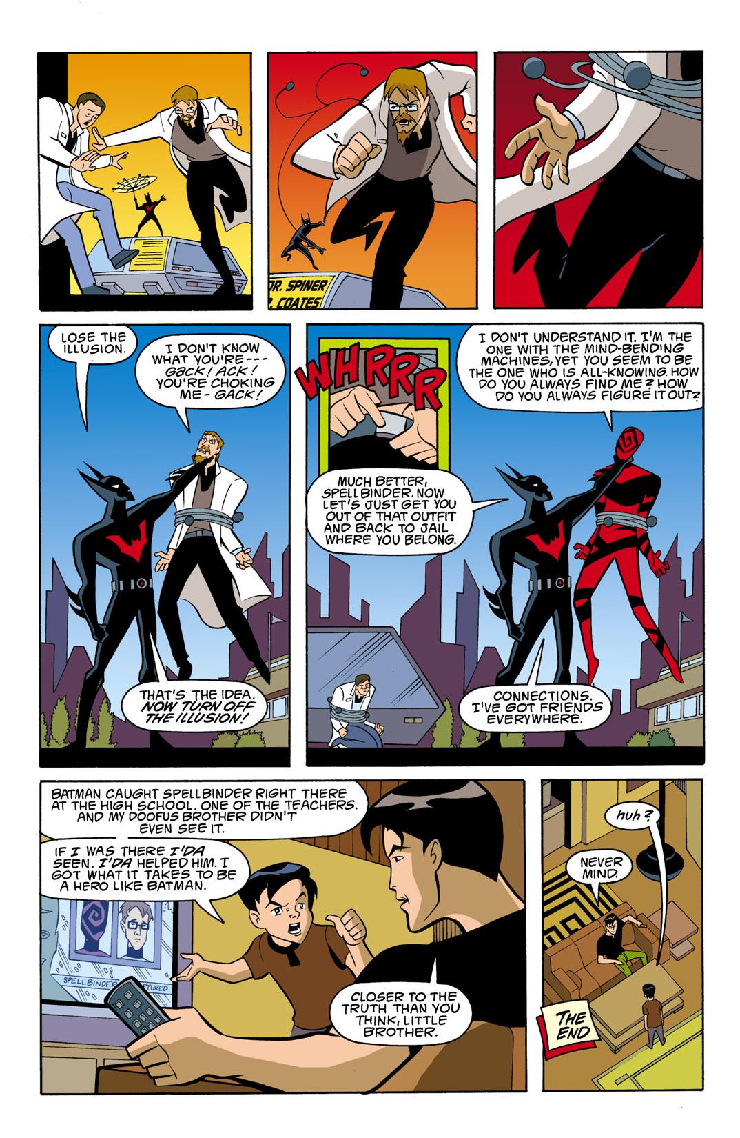 Batman Beyond [II] Issue #7 #7 - English 23