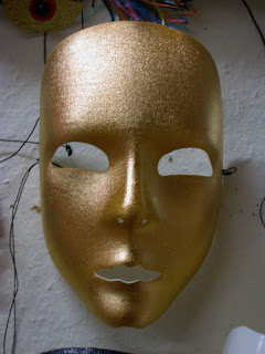 mascara de carnaval