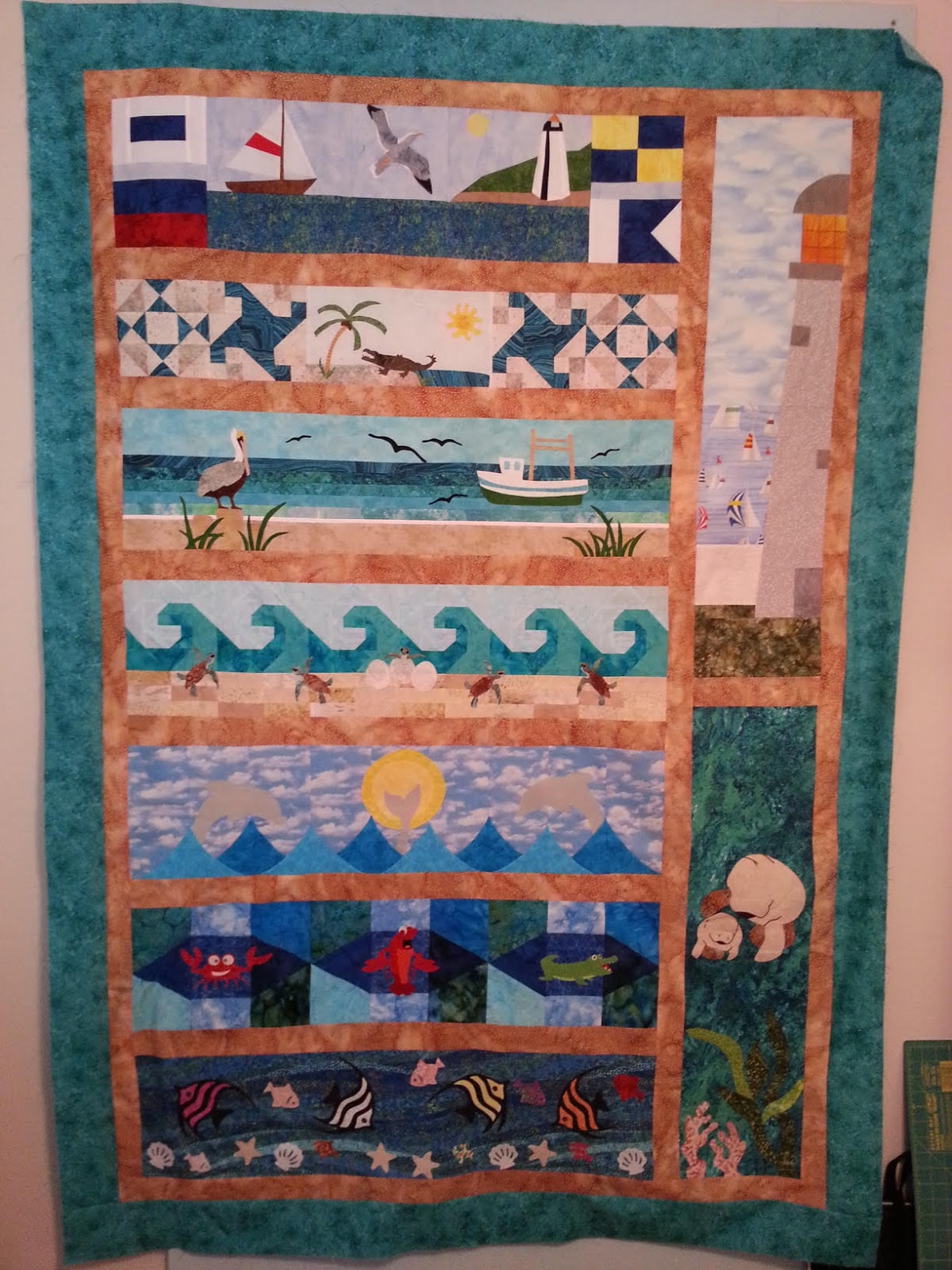 Bright Hopes Quilting Row By Row Experience 2015 And 2016