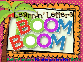 Kindergarten Kel: Learnin' Letters with Chicka Chicka Boom Boom