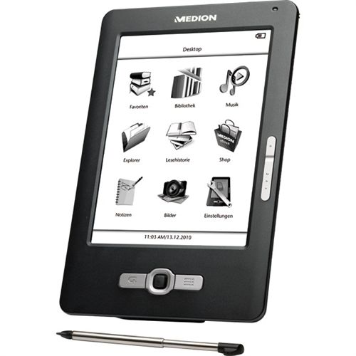 E-book e-reader MD86371 de Medion