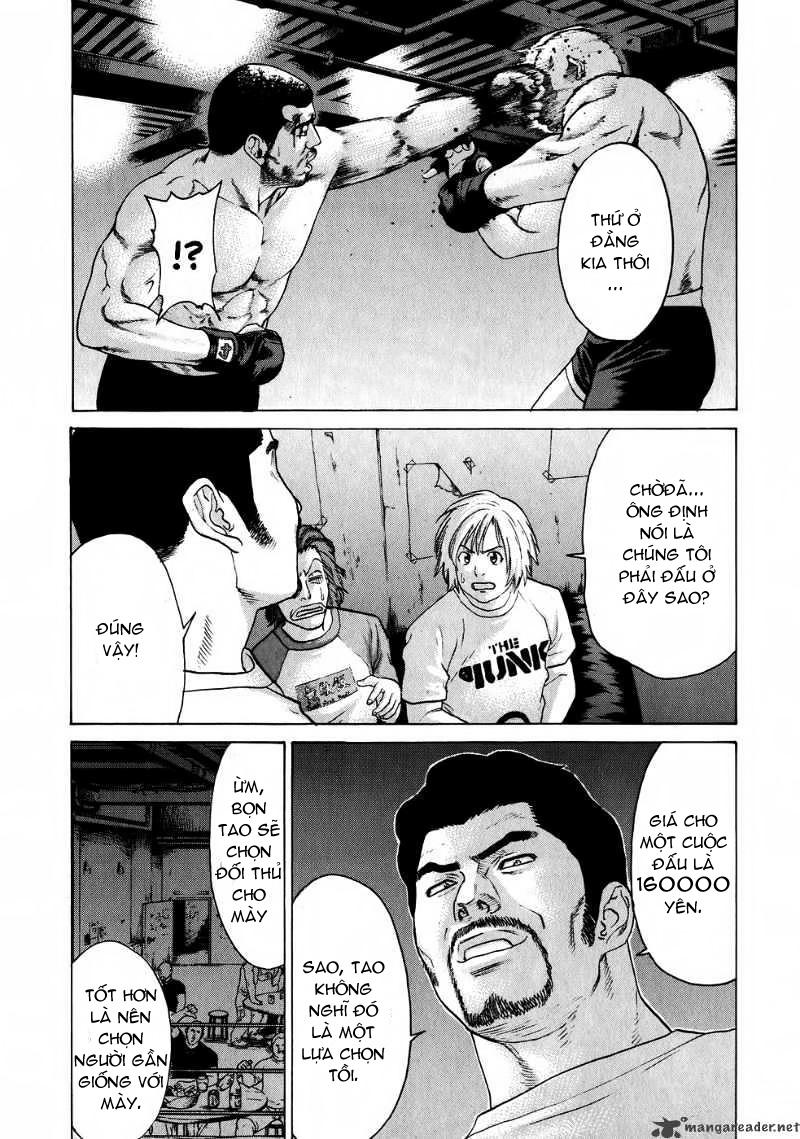 Karate Shoukoushi Kohinata Minoru chap 57 Trang 9