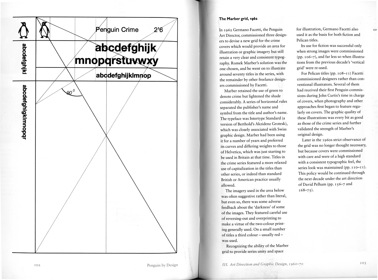 Penguin Book Cover Grid : Design context a brief history penguin book covers