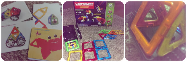 Building with Magformers WOW set