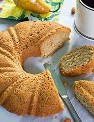 Almond Pear Cake w/ Cardamom & Vanilla (GF) (Vegan)