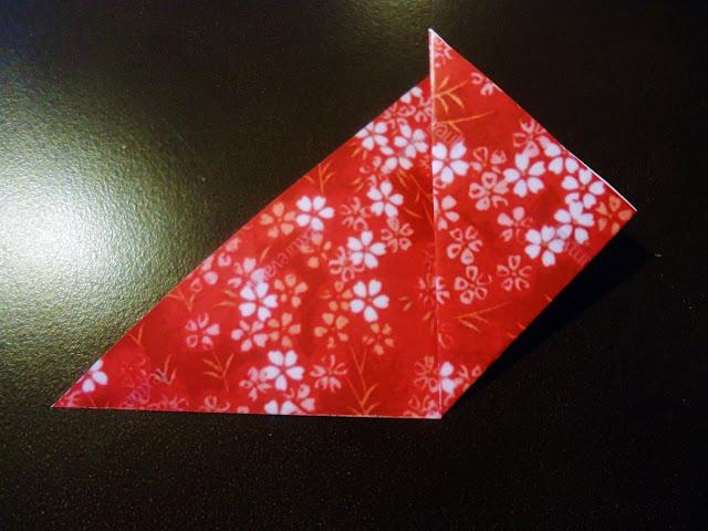 DIY Christmas Origami Flowers