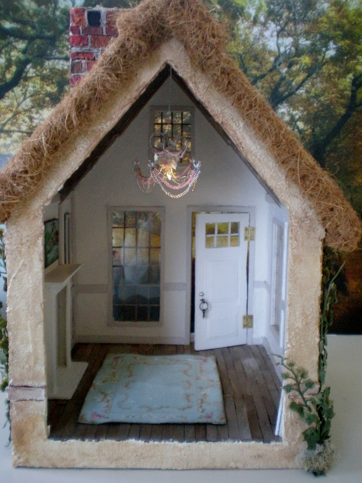 Cinderella Moments Marie Antoinette Cottage Dollhouse