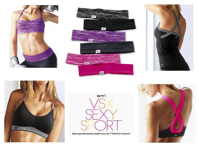 Style Athletics Victoria's Secret VSX Collection Sports Bra Headband Pants