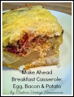 ... Housewives: Make Ahead Breakfast Casserole #2 (Egg, Bacon, & Potato