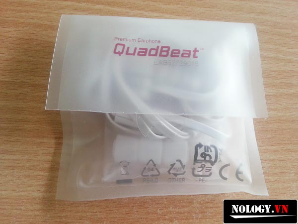 tai nghe Quadbeat của điện thoại lg optimus gk