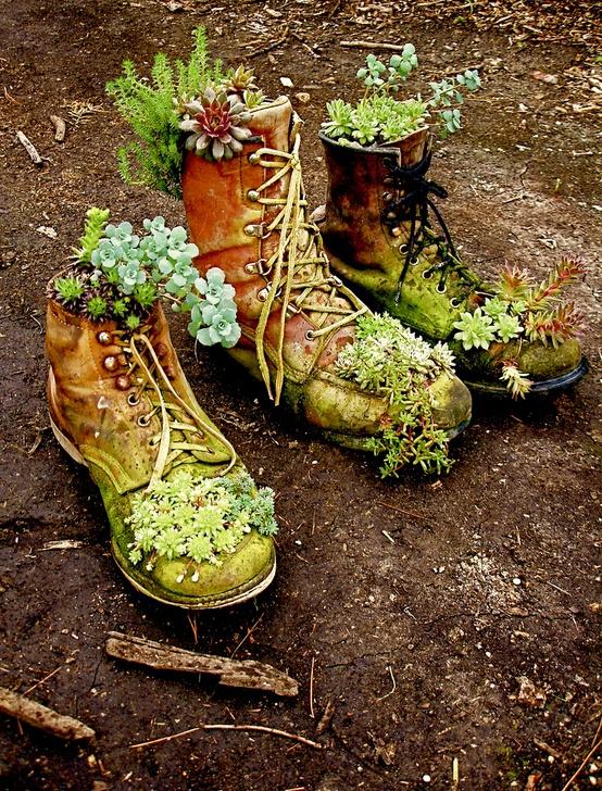 Забавные креативные идеи для сада