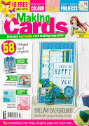 CURRENTLY PUBLISHED ON THE COVER OF THE JULY ISSUE OF MAKING CARDS MAGAZINE