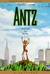 Antz (Released in 1998) - An animation movie with the voices of Woody Allen, Sharon Stone, Jennifer Lopez, Sylvester Stallone, Dan Aykroyd, Anne Bancroft, Gene Hackman