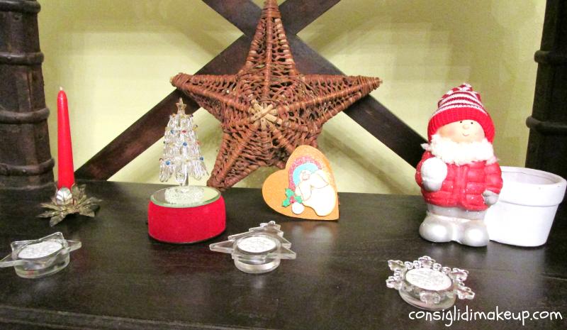 decorazioni natale alberello candela