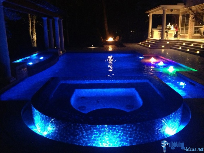 led pool light outdoor swimming pool with led underwater pool lights