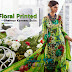 Floral Printed Shalwar Kameez Suits | Online Shopping Exclusive Cotton Satin Suits
