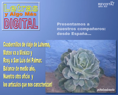 Revista Digital Julio 2012 y Suplemento Concurso Día del Padre Tapa+Julio