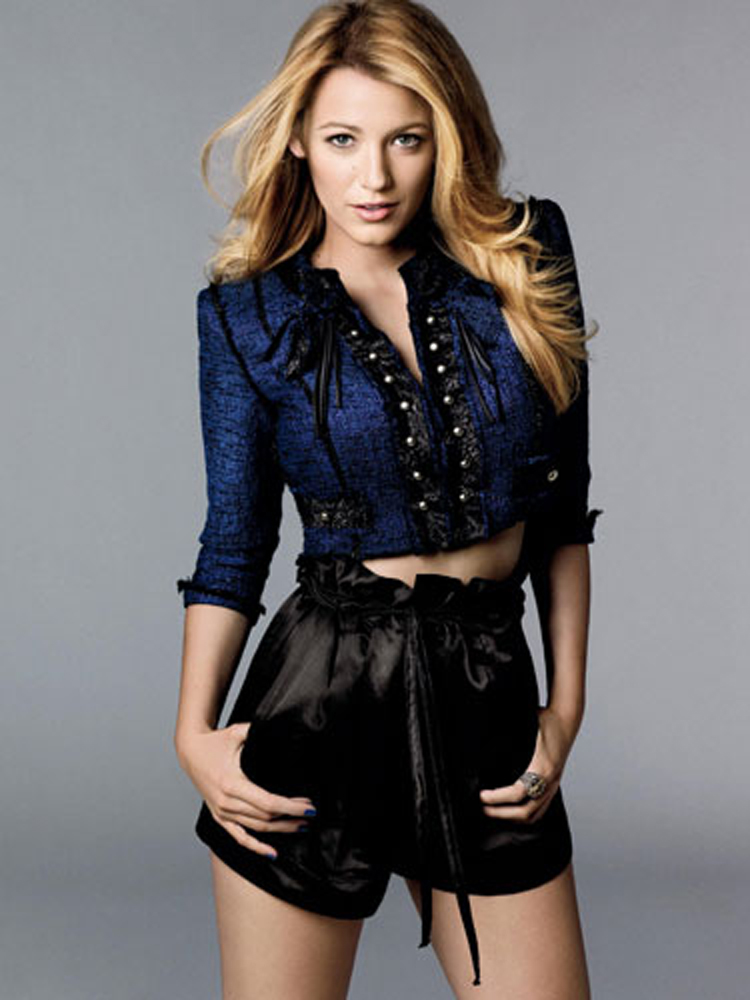 Fresh Look Celebrity Hairstyles - Blake Lively 05