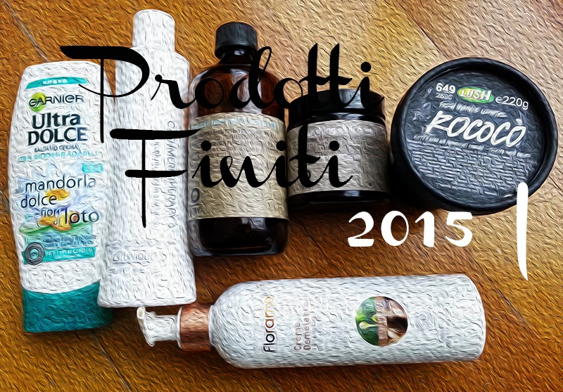 prodotti finiti 2015, empties