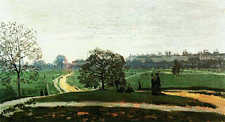 Клод Моне. Гайд Парк. 1871.