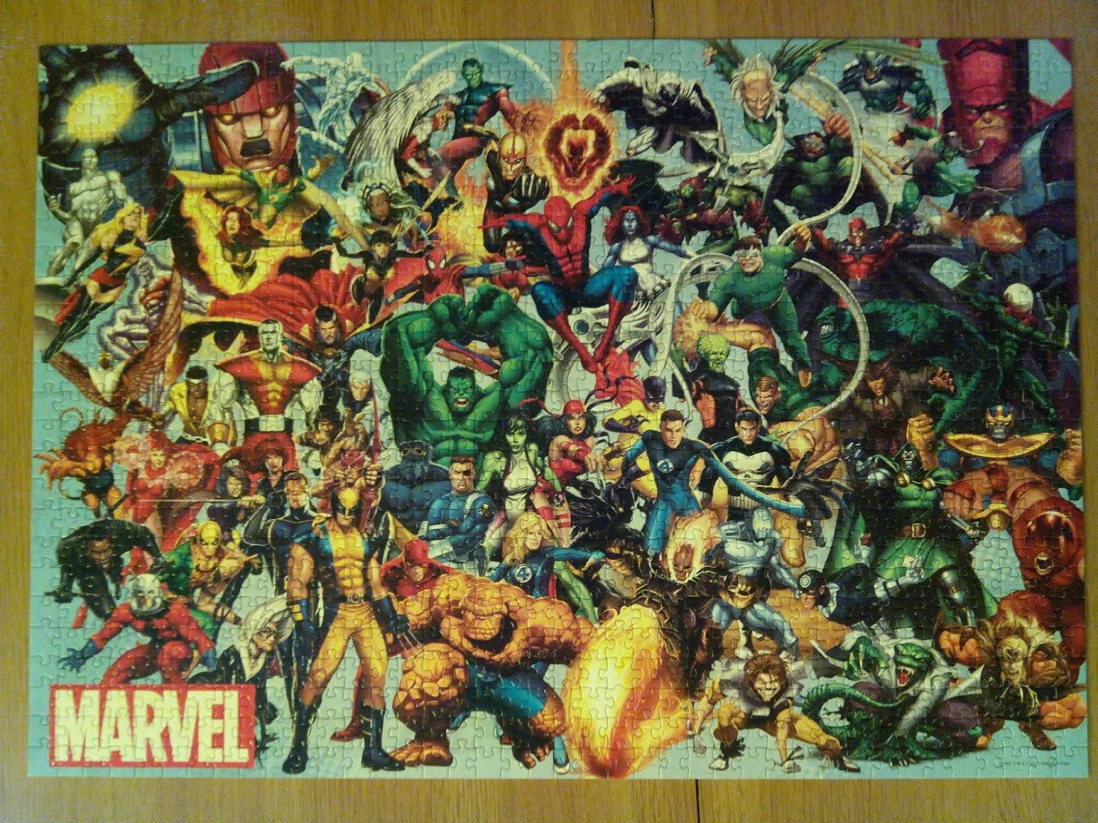 El puzzle terminado