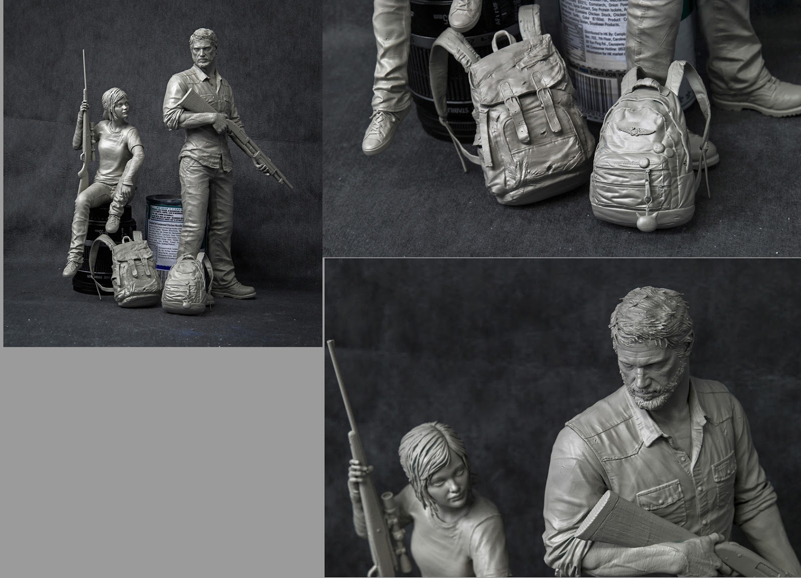 The last of us - characters sculpt