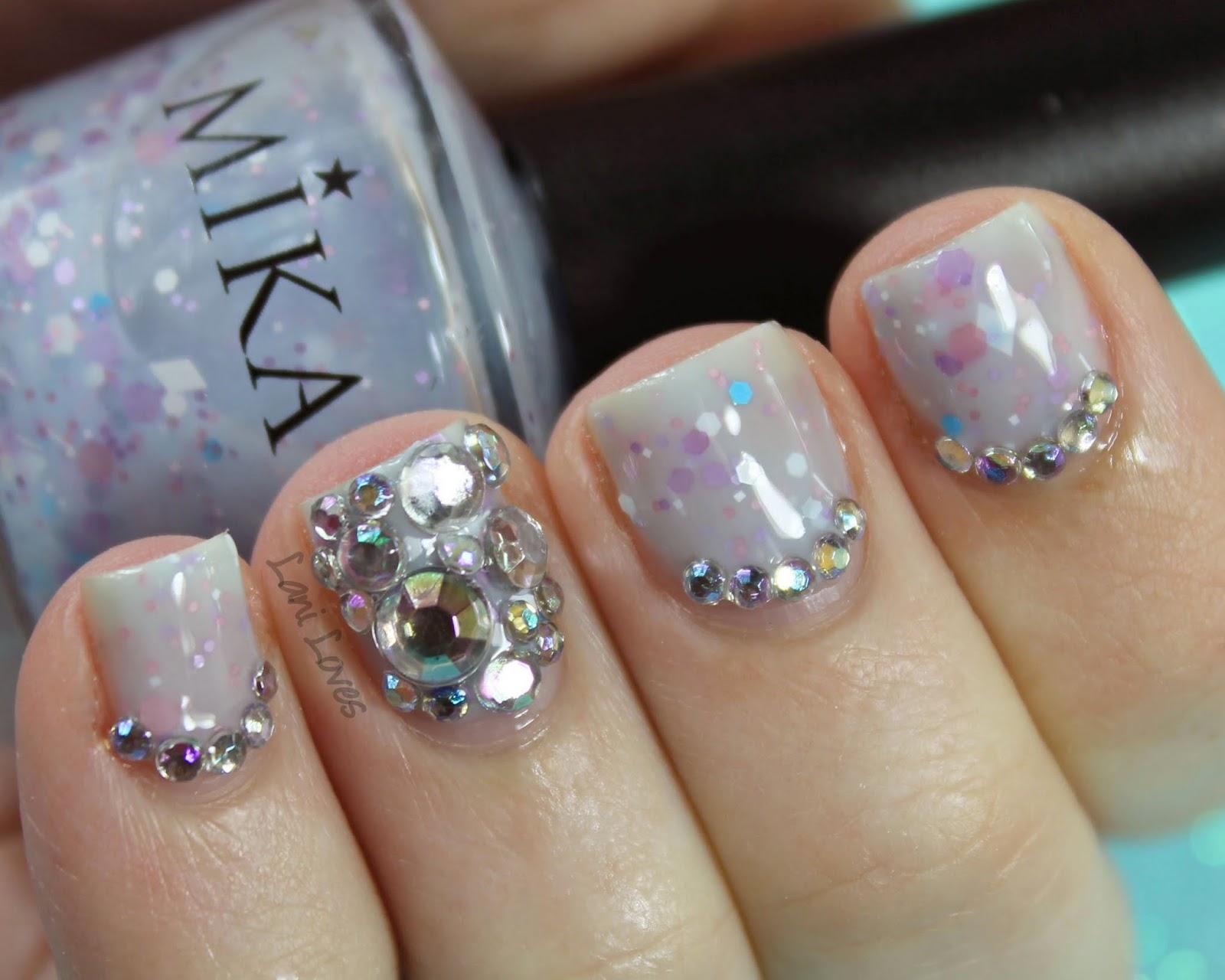Born Pretty Store Rhinestones Crystal Manicure
