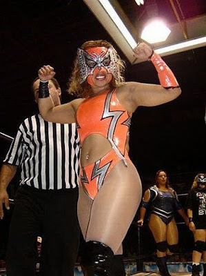 Princesa Sugey - Female Mexican Wrestlers