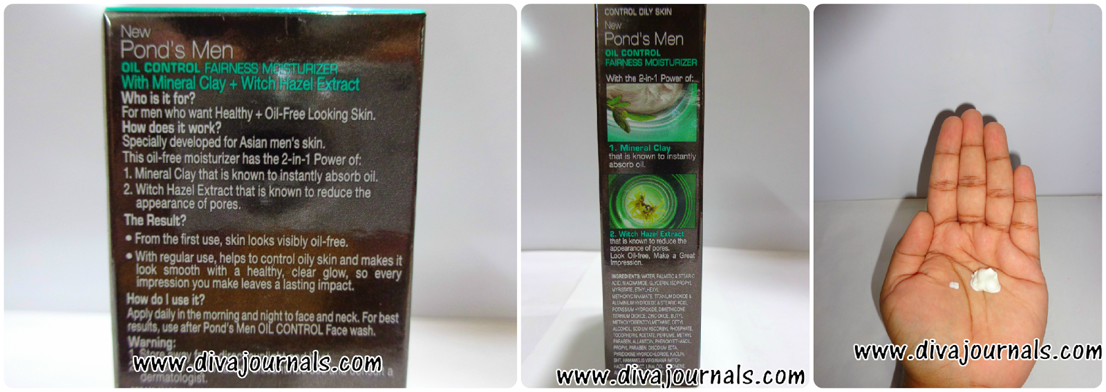 Ponds Men Oil Control Fairness Moisturiser