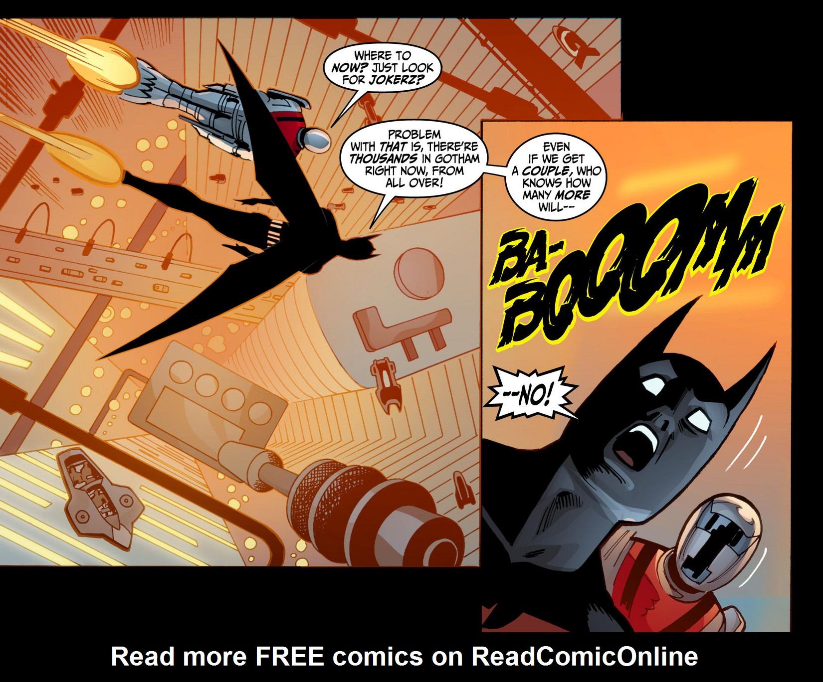 Batman Beyond (2012) Issue #12 #12 - English 16