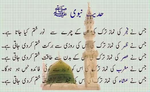 Hadees Urdu Translation Hadees Nabvi in Urdu About