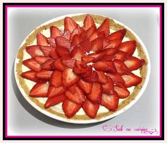 Sab en cuisine recettes faciles tarte aux fraise sur - Une mousseline en cuisine ...