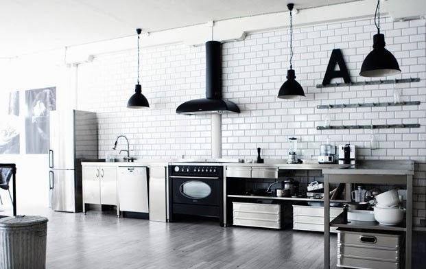 Black Industriele Keuken : Black metal keller keukens