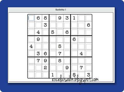 Sudoku con thatquiz.