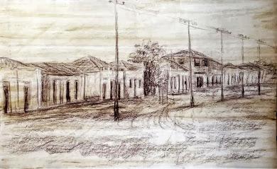 Rua São Paulo nos anos 1940