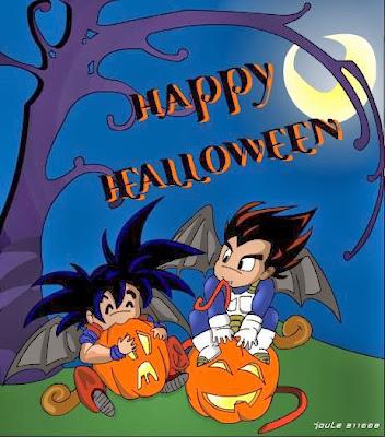 Happy Halloween Dragon Ball Z
