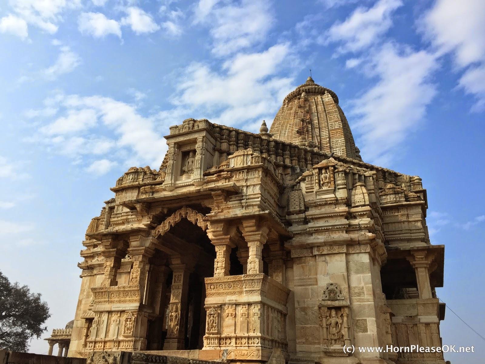 Kalika Mata temple front view