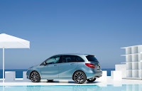 2012 All-New Model Mercedes-Benz B 200 CDI W246 Official Picture