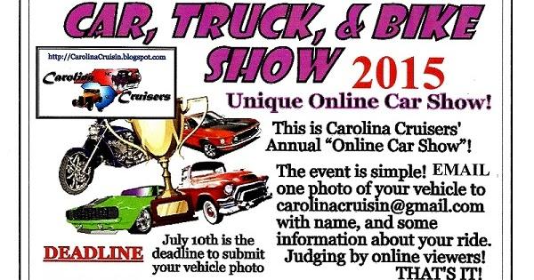 Cruising The Carolinas Online Car Show 2015