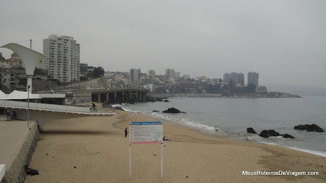 Playa Caleta Abarca - Viña del Mar, Chile
